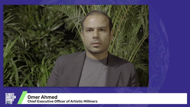 Omer Ahmed<br>Chief Executive Officer of Artistic Milliners