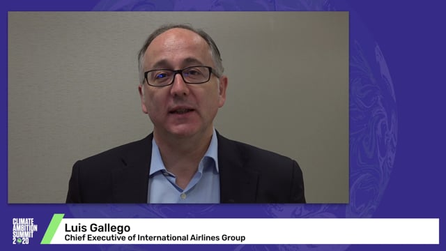 Luis Gallego<br>Chief Executive of International Airlines Group