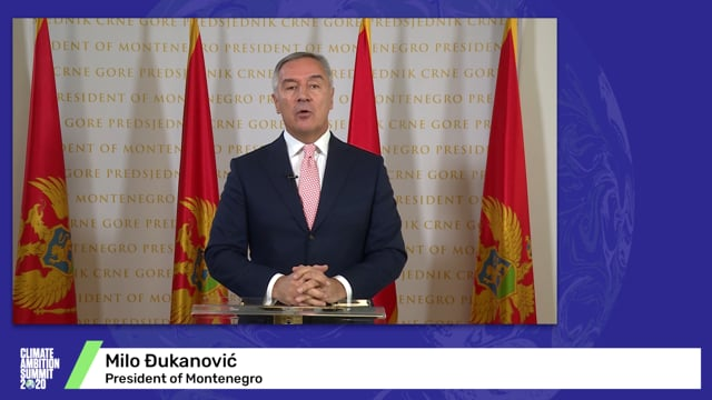 Milo Đukanović<br>President of Montenegro (English Translation)