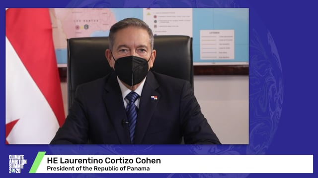 HE Laurentino Cortizo Cohen<br>President of the Republic of Panama