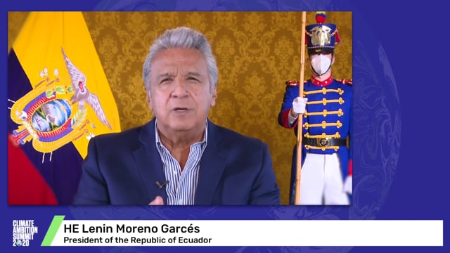 HE Lenin Moreno Garcés<br>President of the Republic of Ecuador