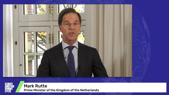 Mark Rutte<br>Prime Minister of the Kingdom of the Netherlands