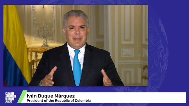 Iván Duque Márquez<br>President of the Republic of Colombia