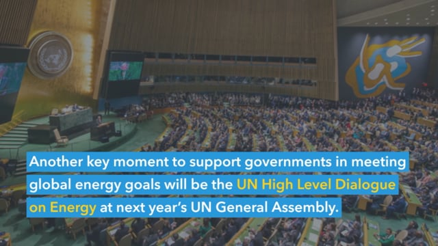 We Cannot Achieve Net-Zero if we do not Achieve Sustainable Energy for All<br>SEforALL