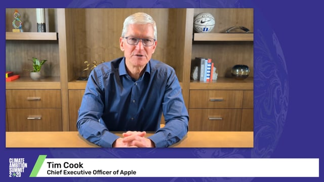 Tim Cook<br>Chief Executive Officer of Apple