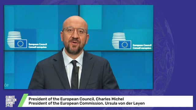 President of the European Council, Charles Michel and President of the European Commission, Ursula von der Leyen
